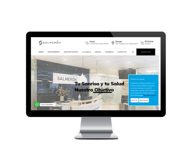 clinicadentalsalmeron.com