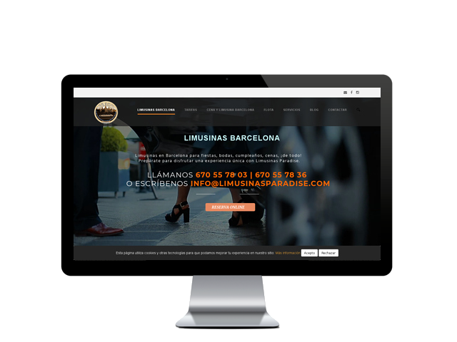 limousineparadise.com